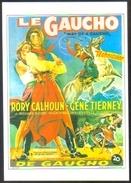 "Carte Postale (cinéma Affiche Film Western) Le Gaucho (Rory Calhoun - Gene Tierney) ""Way Of A Gaucho"" - Affiches Sur Carte"