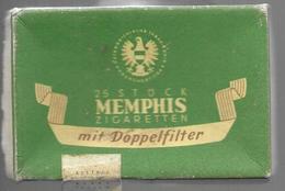 Ancien Paquet Vide En Carton De 25 Cigarettes Memphis - Empty Cigarettes Boxes