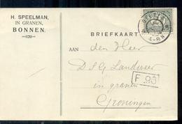 Bonnen - H Speelman In Granen - 1915 - Lettres & Documents