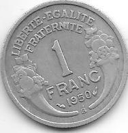 *france 1 Franc 1950 B  Km 885a.2  Vf - Francia