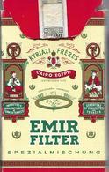 Ancien Paquet Vide En Carton De 12 Cigarettes Emir Filter - Empty Cigarettes Boxes