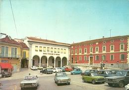 San Salvatore Monferrato (Alessandria) Piazza Mazzini, Mazzini Square, Place Mazzini, Auto D'Epoca - Alessandria