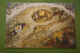 Thumbelina   - Swallow Bird  - Modern Russian Postcard - Fairy Tales, Popular Stories & Legends