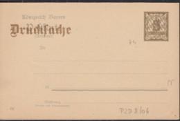 BAYERN PZD 4/04, Ungebraucht, Rückseitig Eindruck: Einladung - Beieren