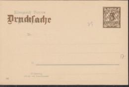 BAYERN  PZD 4/04, Ungebraucht, Rückseitig: Reklame Für Die Münchener Vereinsdruckerei A. Ebner - Beieren