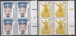 BERLIN 831-832,  4erBlock = 2 Waagerechte Paare, Postfrisch **, Sehenswürdigkeiten 1989 - Berlin (West)