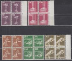 BERLIN 668-672,  4erBlock, Postfrisch **, Industrie Und Technik 1982 - Berlin (West)