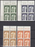 BERLIN 393-396,  4erBlock, Postfrisch **, Heinemann 1971 - Ungebraucht