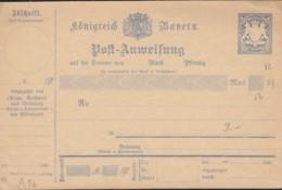 BAYERN A 56 (97), Ungebraucht, Postanweisung 1895/99 - Beieren