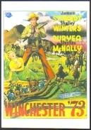 Carte Postale (cinéma Affiche Film Western) Winchester '73 (James Stewart - Shelley Winters) - Affiches Sur Carte