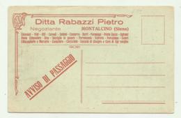 MONTALCINO ( SIENA ) NEGOZIANTE PIETRO R. NV FP - Siena