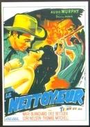 """Carte Postale Illustration : Belinsky (cinéma Affiche Film Western) Le Nettoyeur (Audie Murphy) """"Destry"""" - Affiches Sur Carte"""