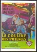 Carte Postale Illustration : Mascii (cinéma Affiche Film Western) La Colline Des Potences (Gary Cooper, Maria Schell) - Affiches Sur Carte