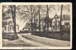 Nieuwolda - Ingang Stationsweg - 1931 - Otros