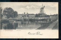 Den Haag - Hoornbrug - Molen - 1900 - Den Haag ('s-Gravenhage)