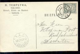 Nijland - Bakkerij - H Terpstra - 1914 - Brieven En Documenten