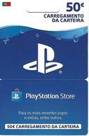 PORTUGAL - PlayStation Store Gift Card 50€ - Gift Cards
