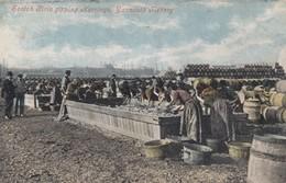 Postcard Scotch Girls Gipping Herrings Yarmouth Fishery [ Fishing Industry Interest ] Great Yarmouth  My Ref  B13260 - Fishing