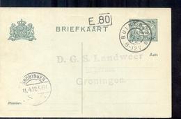 Groningen - D G S Landweer Granen - - - - - - 1912 - Lettres & Documents