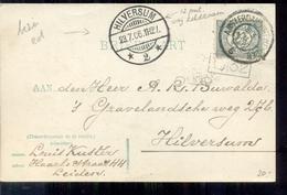 Apparte Stempel Hilversum 12 Punt - 1906 - 1891-1948 (Wilhelmine)