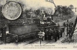 """Edition """"Cartes D'Autrefois"""" - Thème: Evènements Et Curiosités - Grève De Cheminots 1910 - Grèves"""