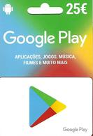 PORTUGAL - Google Play Gift Card 25€ - Gift Cards