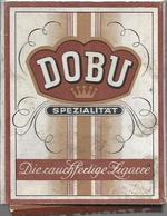 Ancien Paquet Vide En Carton De 5 Cigares Dobu - Sigarenkokers