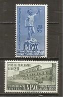 Italia-Italy Nº Yvert  556-57 (MH/*) - 6. 1946-.. República