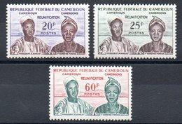 CAMEROUN - YT N° 329 à 331 - Neufs ** - MNH - COTE: 60,00 € - Cameroun (1960-...)