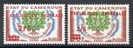 CAMEROUN - YT N° 328 + 328a - Neufs ** - MNH - COTE: 36,00 € - Cameroun (1960-...)