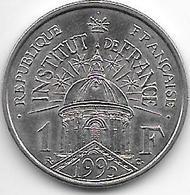 *france 1 Franc 1995  Km 1133 Unc - H. 1 Franco