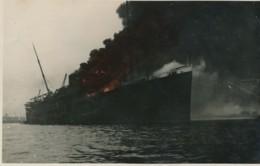 XNL.82.  Vlaardingen - Ship On Fire - 1932 - Vlaardingen