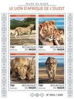 Niger 2015. Nig15625] Fauna, Lions (s\s) - Raubkatzen