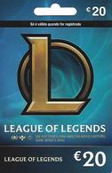 PORTUGAL - League Of Legends Gift Card 20€ - Cartes Cadeaux