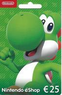 PORTUGAL - Nintendo EShop Gift Card 25€ - Cartes Cadeaux