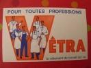 Buvard Vêtra. Vêtement De Travail. Vers 1950. - Buvards, Protège-cahiers Illustrés