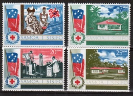 Samoa Set Of Stamps From 1967 To Celebrate The South Pacific Health Service. - Samoa