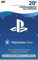 PORTUGAL - PlayStation Store Gift Card 20€ - Tarjetas De Regalo
