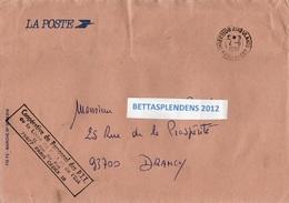 LSC 1985 - Cachet DIRECTION AMBULANTS - NORD Et EST & Griffe Coopérative Du Personnel Des PTT - Marcophilie (Lettres)