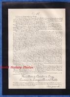 Document De 1900 - Château De MONTCONY - Marie Adélaïde CARRELET De LOISY Comtesse De LONGEVILLE De La RODDE - Documentos Históricos