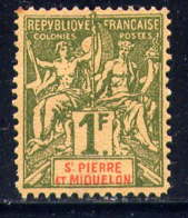 SPM - 71(*) - TYPE GROUPE - Unused Stamps