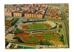 """TORINO  -  Vista Dall'aereo Dello  """"Stadio Comunale"""" - Cartolina  Non  Viaggiata  Anni  '80 - Stadiums & Sporting Infrastructures"""