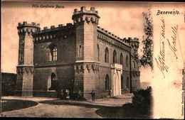 2785) CARTOLINA DI BENEVENTO-VILLA CARDINALE PACCA-VIAGGIATA NEL 1902 - Benevento