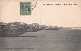 CPA - Tonkin - Doson - Vue De La Plage - Vietnam