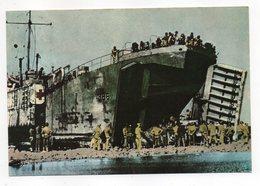 Histoire -- Débarquement En Normandie--L'équipe De Débarquement Alliée Apporte Avec Elle Sa Propre Jetée.....à Saisir - Histoire