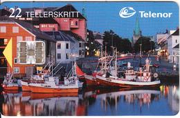 NORWAY - Nidelven(091), CN : C73003359, Tirage 9984, 03/97, Used - Norway