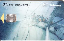 NORWAY - WhiteBread/Sailing, Round The World Race(097), CN : C770110800, Tirage 20000, 06/97, Used - Norway