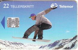 NORWAY - Snowboard(106), CN : C7C019961, Tirage 20000, 12/97, Used - Norway
