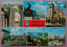 BEOGRAD - Jugoslavia (Serbia) - Pozdrav Iz Beograda   - Vg - Jugoslavia