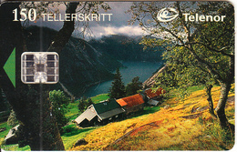 NORWAY - Kjeasen(050), CN : C53149550, Tirage 9500, 04/95, Used - Norway